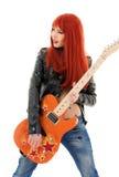 Bébé de guitare photo libre de droits