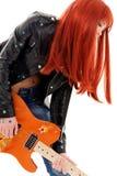 Bébé de guitare Image libre de droits