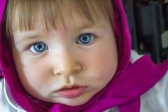 Bébé de œil bleu Photo libre de droits