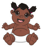 Bébé de nègre illustration stock