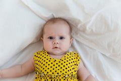 Bébé de nourrisson nouveau-né Photos libres de droits