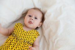 Bébé de nourrisson nouveau-né Image stock