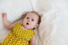 Bébé de nourrisson nouveau-né Images libres de droits