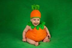 Bébé de potiron Images libres de droits