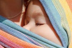 Bébé de sommeil images stock