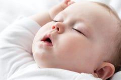 Bébé de sommeil Photographie stock