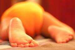 Bébé de sommeil Photographie stock libre de droits