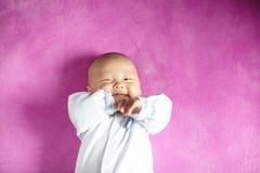 Bébé de sourire Photographie stock
