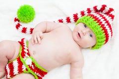 Bébé de vacances Photos libres de droits
