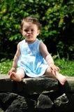 Bébé en stationnement photographie stock