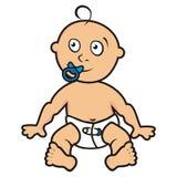 Bébé, enfant en bas âge Image libre de droits