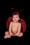 Bébé et coccinelle Photo libre de droits