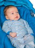 Bébé garçon à la maison Images libres de droits