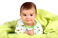 Bébé garçon Photographie stock