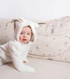 Bébé garçon de 1 an Image libre de droits