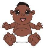 Bébé garçon de nègre illustration libre de droits