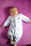 Bébé garçon de sourire Images stock
