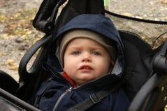 Bébé garçon empaqueté photos libres de droits