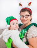 Bébé garçon et maman Photos libres de droits