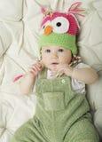 bébé garçon heureux de bébé de 5 mois Images stock