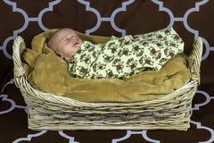 Bébé garçon nouveau-né 2 Images libres de droits