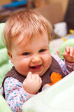 Bébé heureux Photographie stock libre de droits