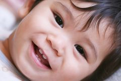 Bébé heureux 4 image libre de droits