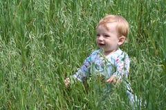 Bébé heureux Photos stock