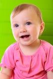 Bébé heureux de portrait photo libre de droits