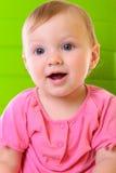 Bébé heureux de portrait image stock