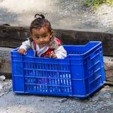 Bébé indien photographie stock