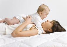 bébé mon Photographie stock libre de droits