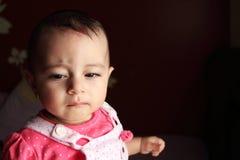 Bébé nouveau-né égyptien arabe Images libres de droits