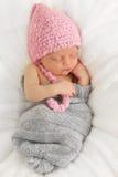 Bébé nouveau-né Photographie stock libre de droits