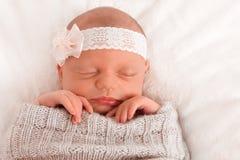 Bébé nouveau-né Images stock