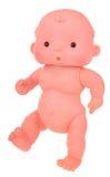 Bébé nu - poupée Photographie stock