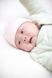 Bébé obtenant de dormir Images libres de droits