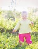 Bébé onze mois de mois Image libre de droits