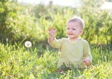 Bébé onze mois de mois Photos stock