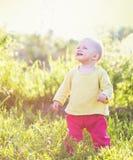 Bébé onze mois de mois Photographie stock