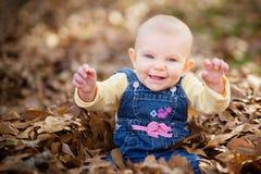 Bébé riant image libre de droits