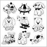 Bébé Toy Set Objet mignon pour de petits enfants Photographie stock libre de droits
