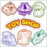 Bébé Toy Set Objet mignon pour de petits enfants Image stock