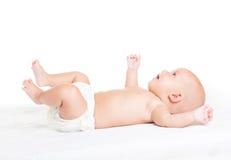 Bébé trois mois images libres de droits