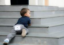 Bébé vilain photo libre de droits