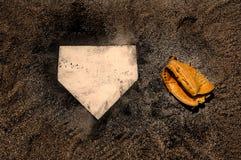 Béisbol foto de archivo libre de regalías