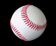 Béisbol aislado sobre negro ilustración del vector