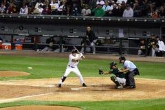 Béisbol - bateador de la liga importante Imagen de archivo libre de regalías