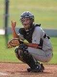 Béisbol de la High School secundaria Fotos de archivo