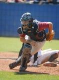 Béisbol de la High School secundaria Imágenes de archivo libres de regalías